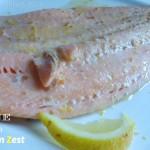 Salmone al Coriandolo con Lemon Zest
