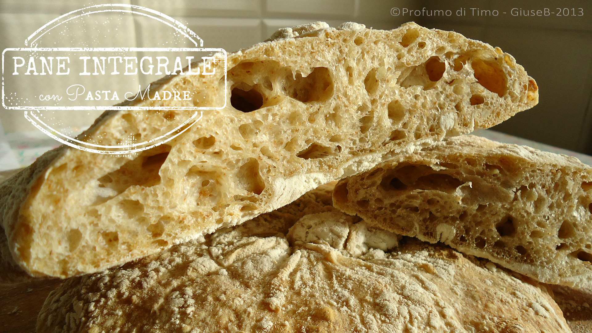 pane integrale alveolatissimo