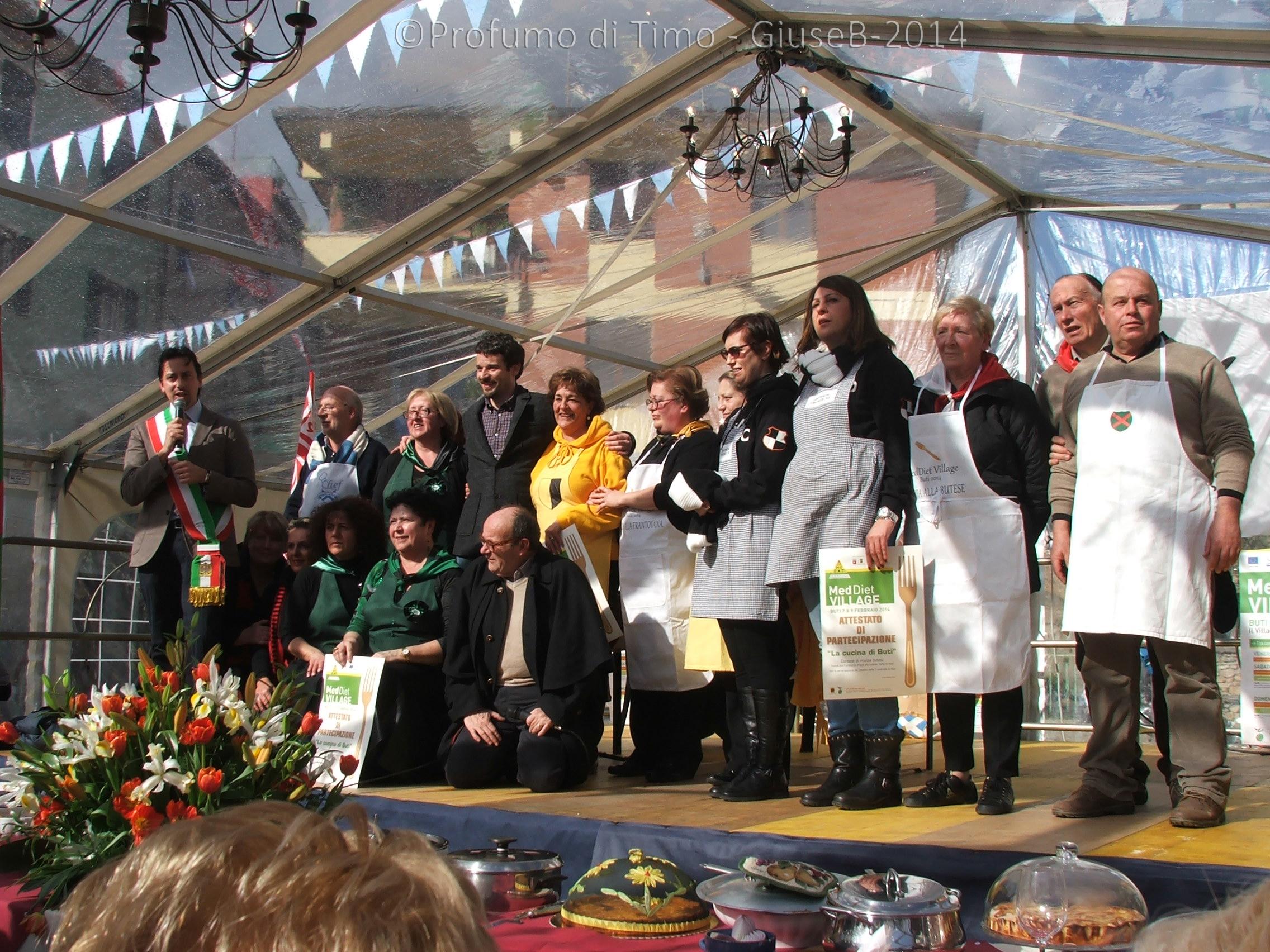 Foto ricordo delle del contest la Cucina di Buti per MeddietVillage 9 febbraio 2014 (70)
