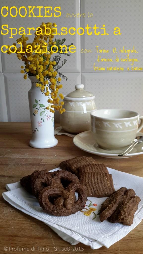 Cookies ovvero lo Sparabiscotti a colazione