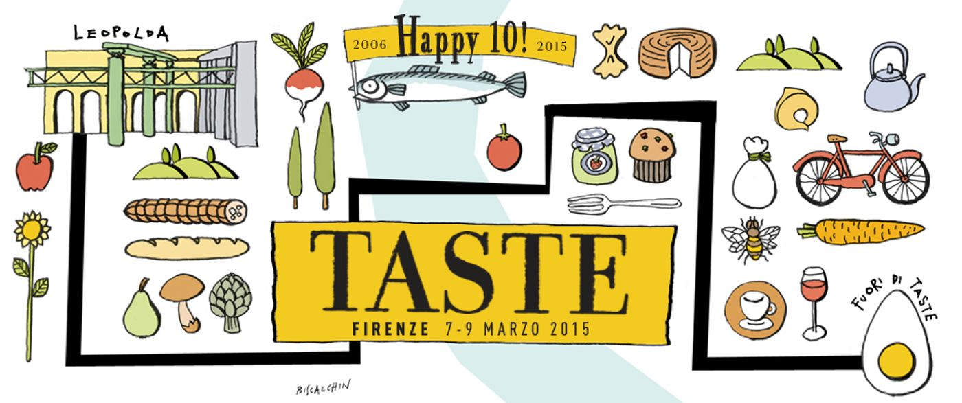 immagine presa dal sito del Taste 2015