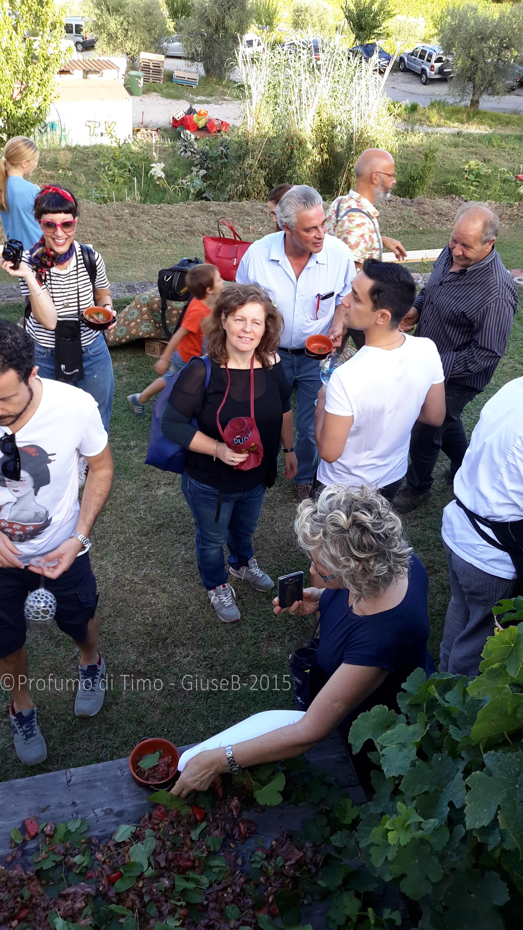 Vendemmia 2015 a Valgiano Azzurra Giuse Stefania Il Corn3