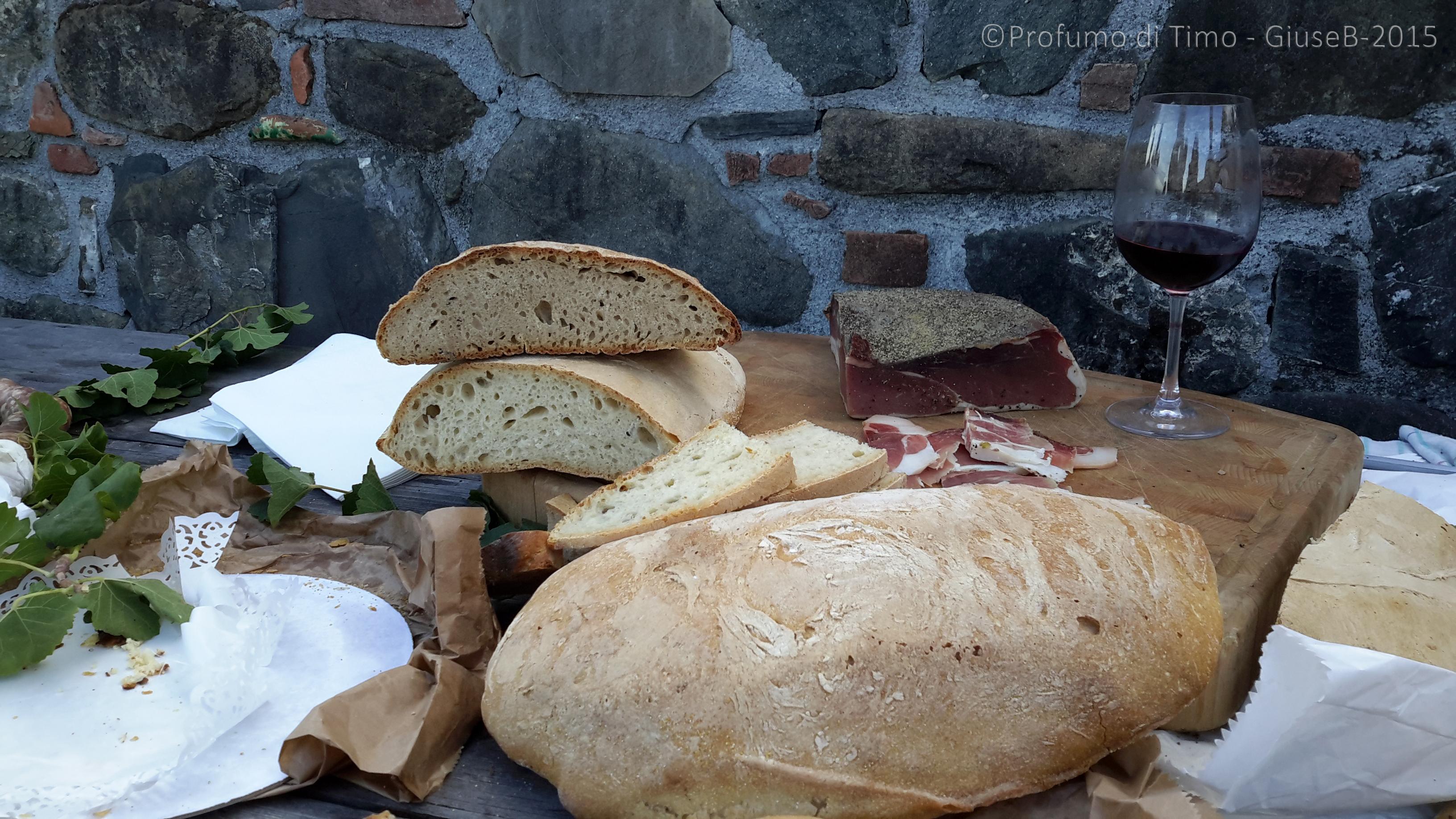 Vendemmia 2015 a Valgiano prodotti Slowfood della Garfagnana