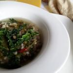 Zuppa Toscana con Farro e Cavolo Verza