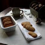 """""""Lingue di Gatto"""" con farina di castagne della Garfagnana macinata a pietra"""