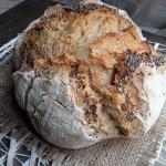 Pane semi integrale con farina di segale e semi di chia Nuov@ Terr@