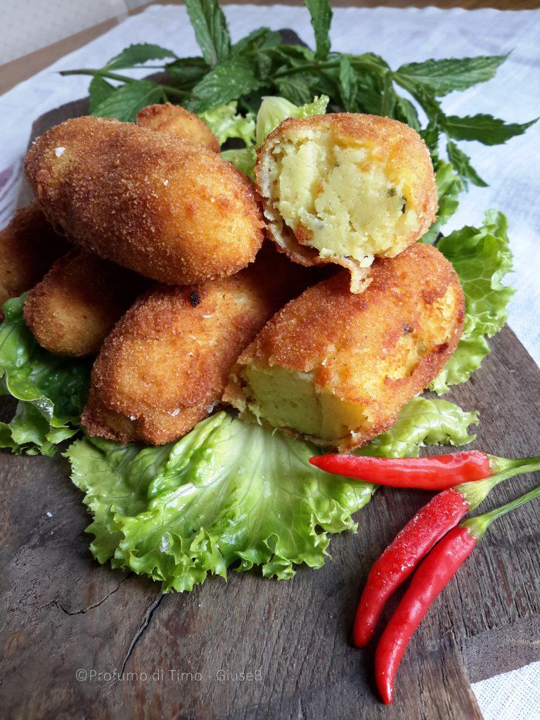 Crocchette di patate Bombay per lo #scambioricette