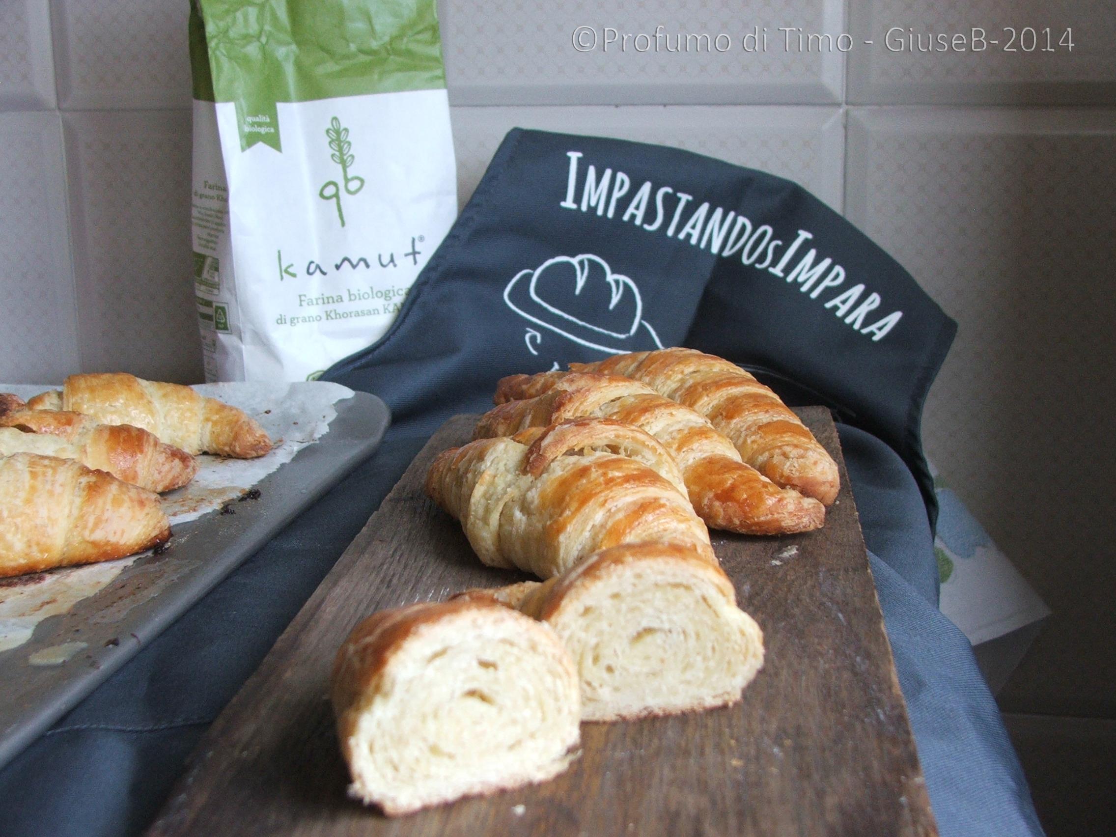 Croissant sfogliati per Blogger Love Qb – Il contest di Molino Grassi