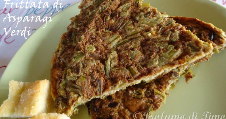 Asparagi verdi in frittata