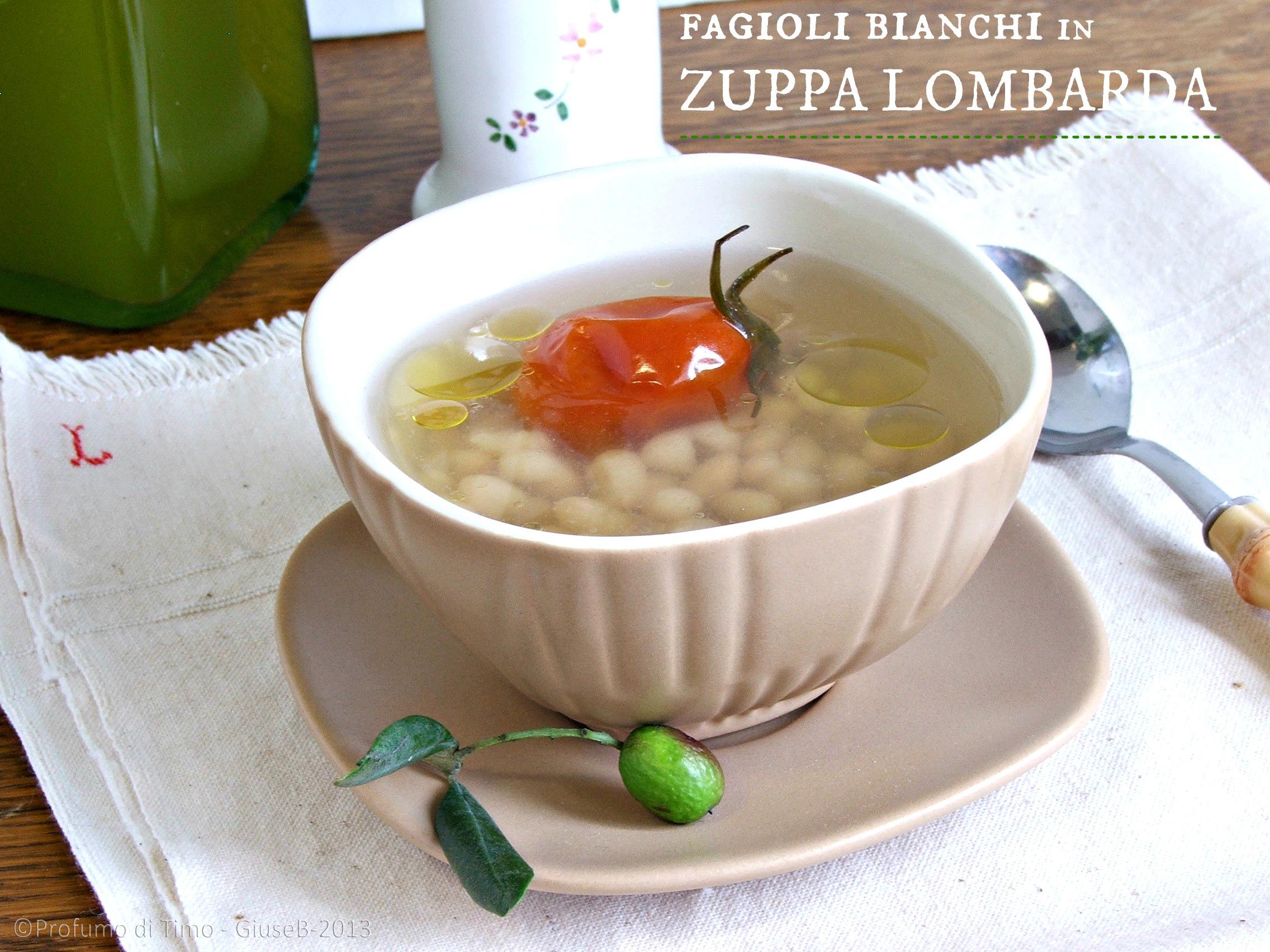 Fagioli bianchi in Zuppa lombarda