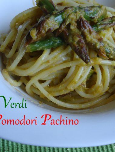Spaghetti con Asparagi & Pomodorini Pachino