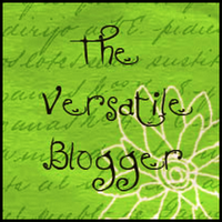 The Versatile Blogger Award Nominations