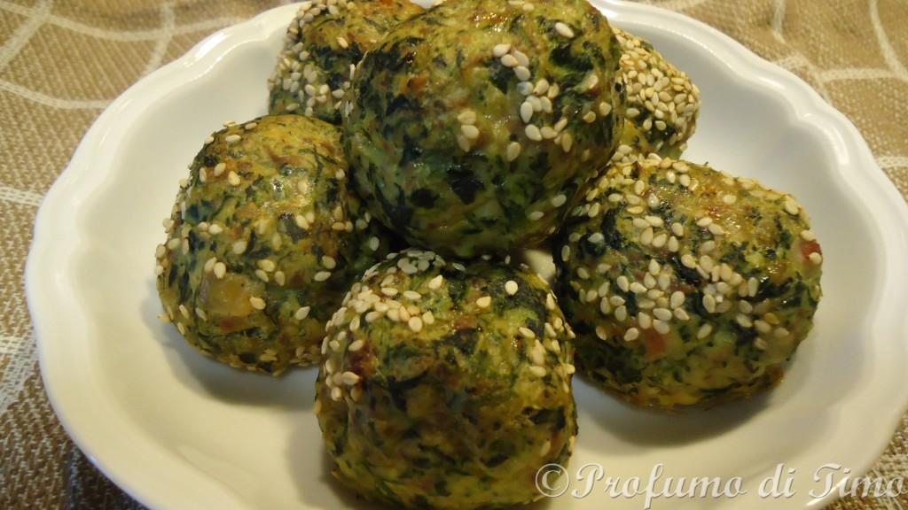 polpettine spiancini patate speck coriandolo manzo macinato in parti uguali (3)