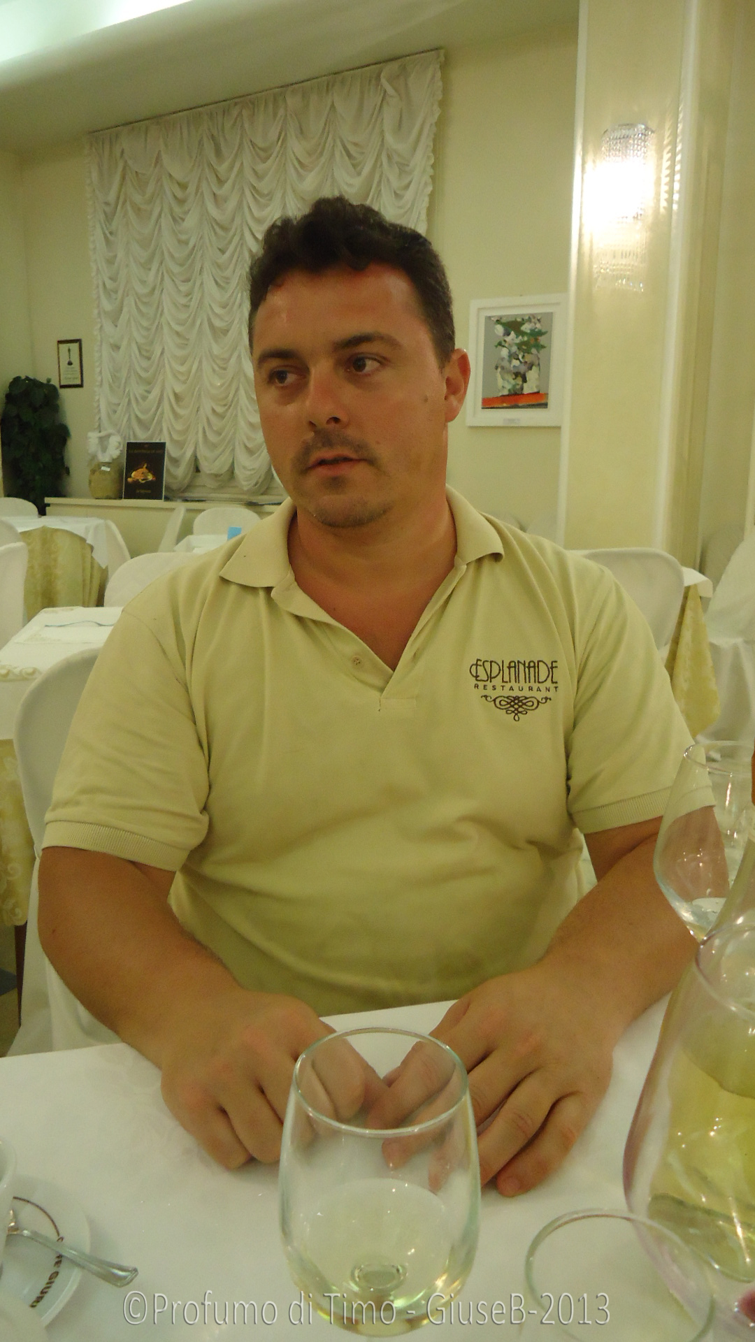 Antonio Morelli, Chef del Ristorante Esplanade e Segretario generale dell' Unione Regionale Cuochi Toscani