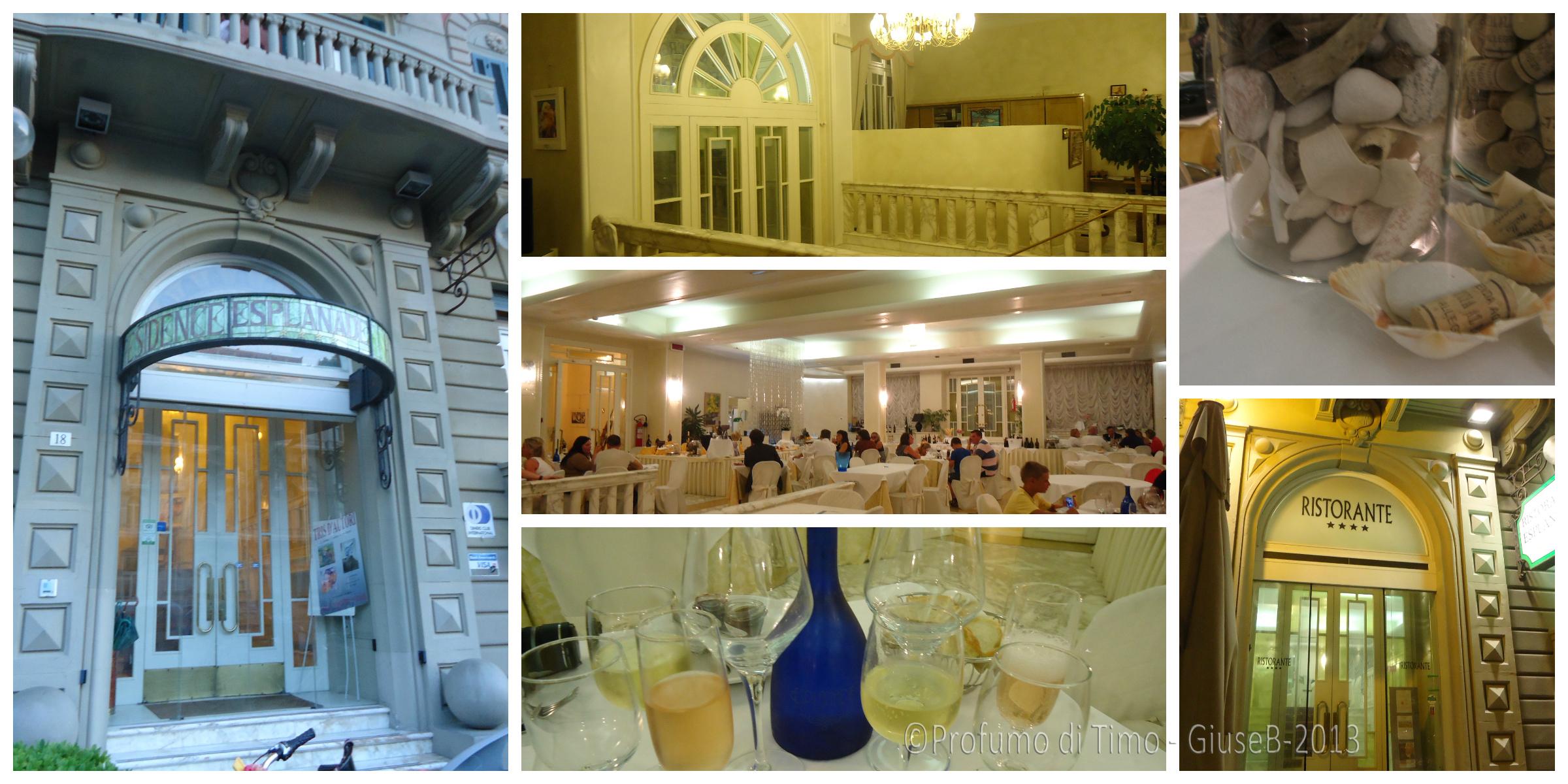 Hotel Esplenade Viareggio Interni
