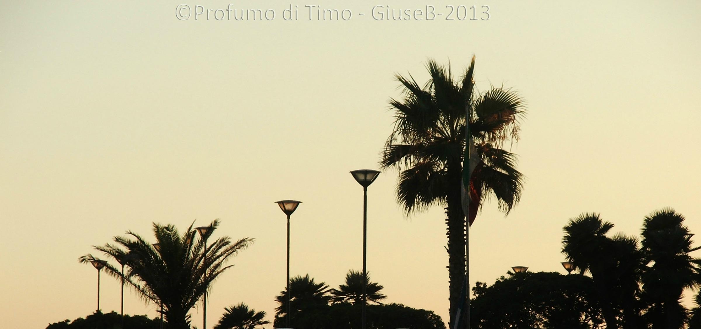 Tramonto a Viareggio 2013