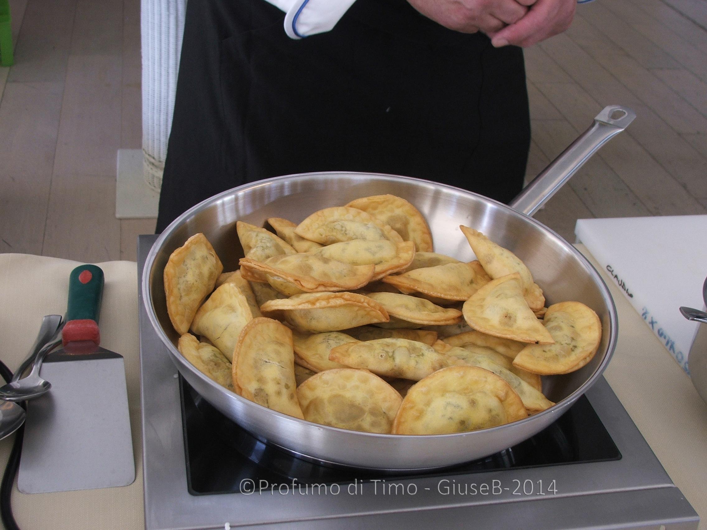 terreditoscana2014 raviolo fritto di mallegato e uvetta (2)