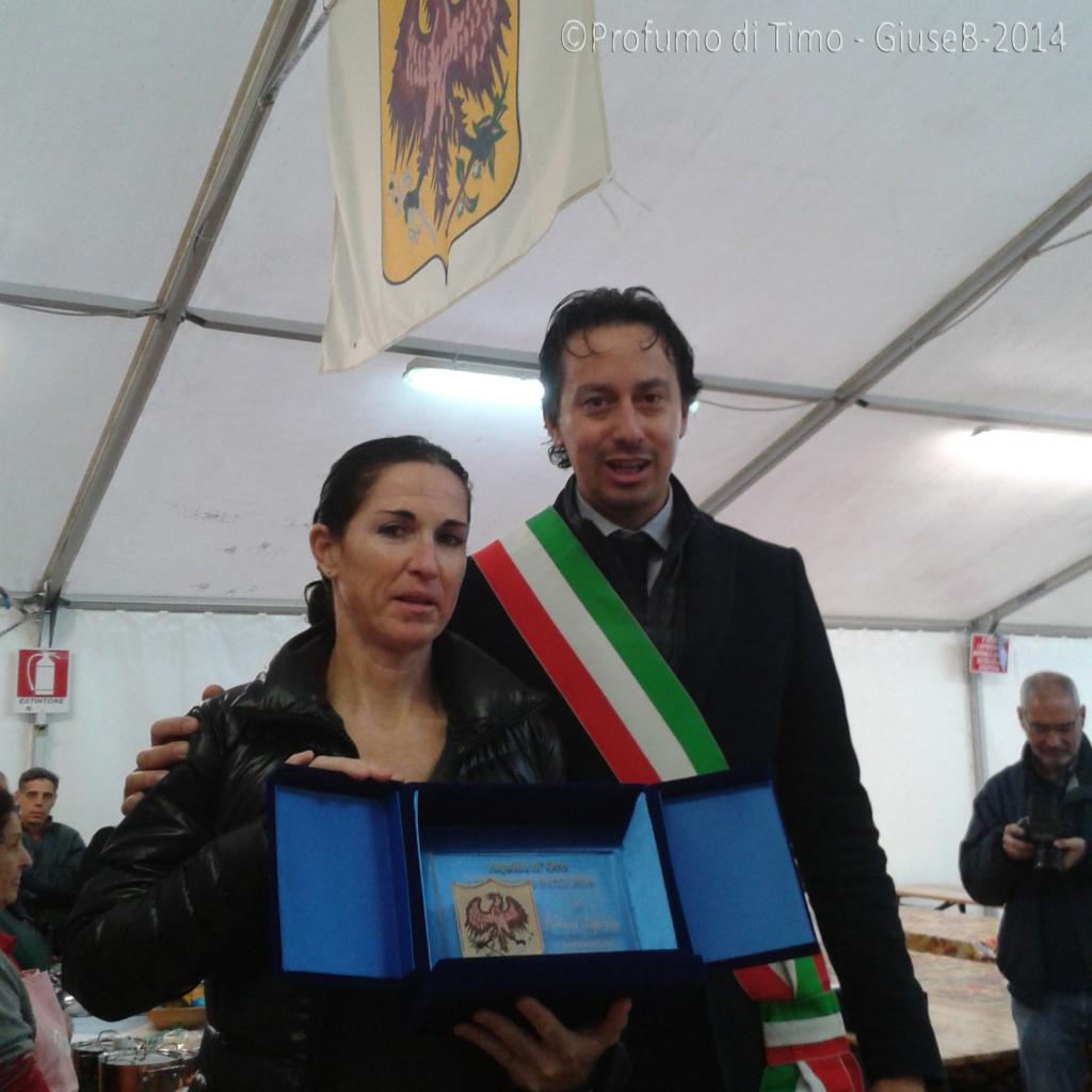 Fabiana Luperini riceve l'Aquila d'oro - Premio alla carriera