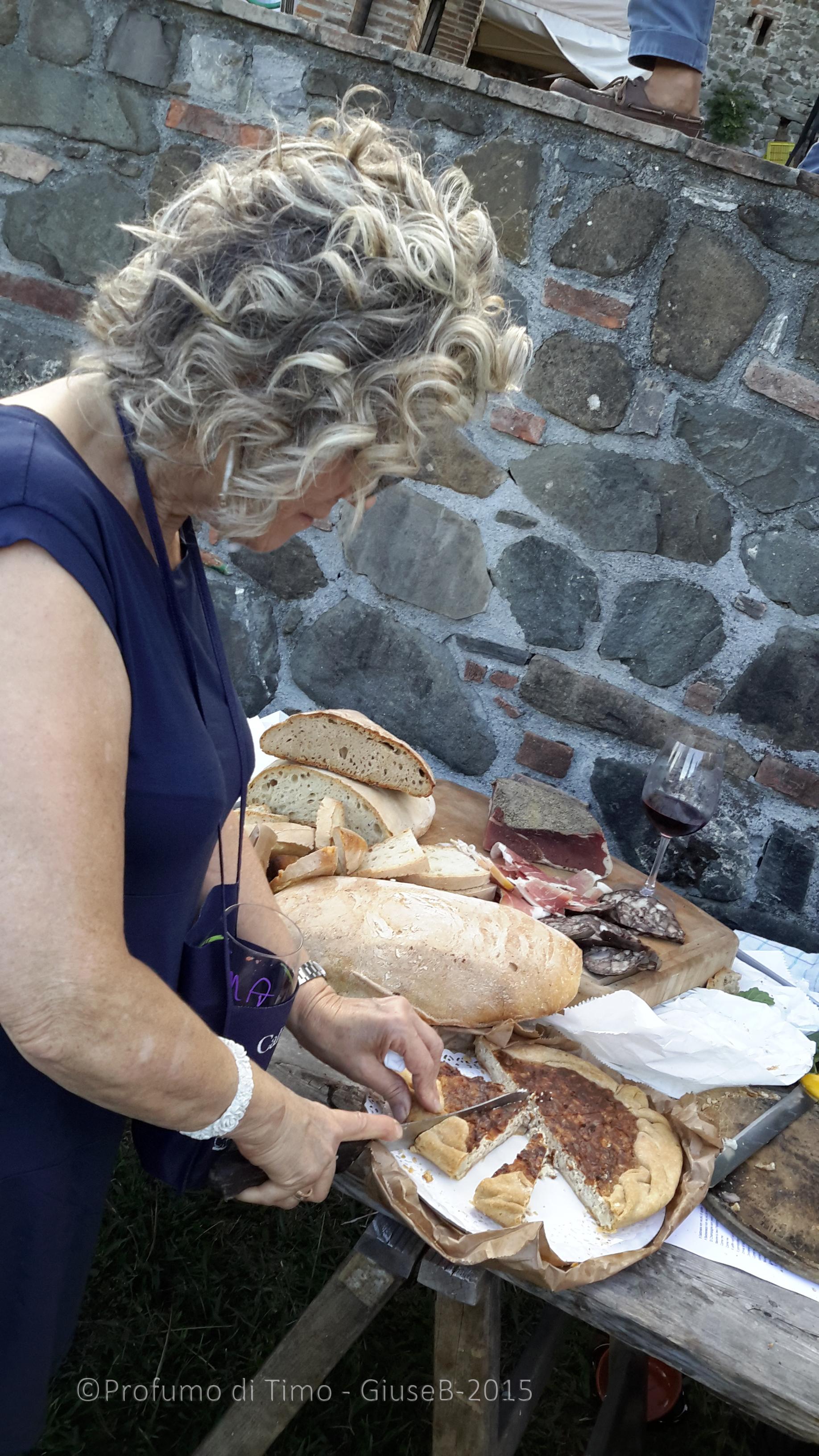 Vendemmia 2015 a Valgiano Stefania e gli assaggi