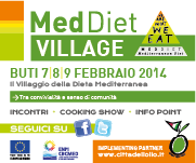 We Are What We Eat ovvero Siamo Ciò Che Mangiamo-MEdDIET VILLAGE a Buti 7-9 febbraio 2014