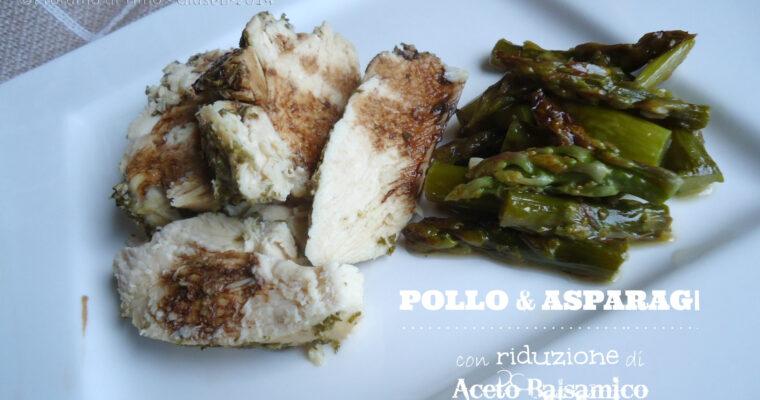 Pollo & Asparagi con riduzione di Aceto Balsamico