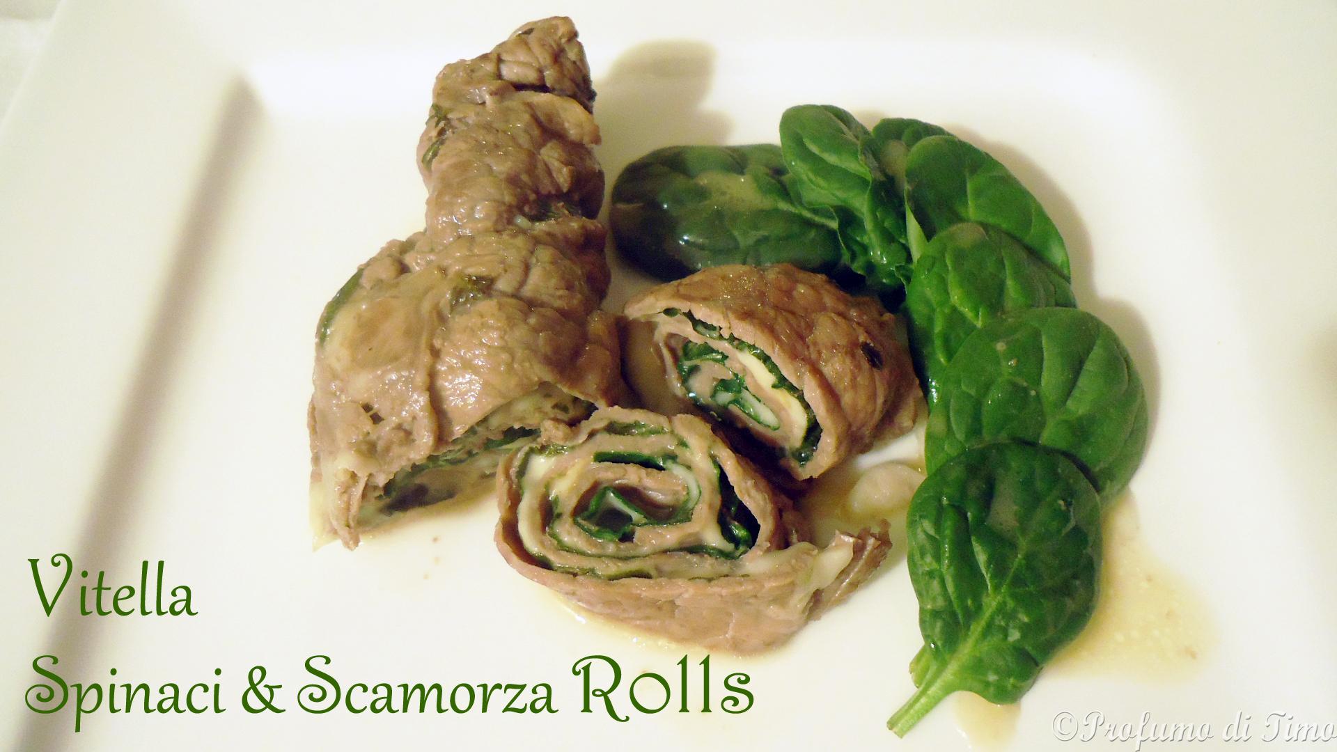 Vitella, Spinaci & Scamorza Rolls